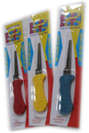 Pic of the Kiddie Cutters, yellow red and blue